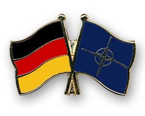 Freundschaftspins Deutschland - NATO