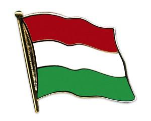 Flaggen-Pins Ungarn (geschwungen)