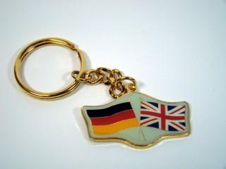 Schlüsselanhänger Deutschland-Großbritannien