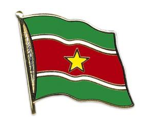 Flaggen-Pins Surinam (geschwungen)