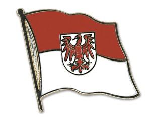 Flaggen-Pins Brandenburg (geschwungen)