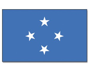 Flagge Mikronesien 90 x 150