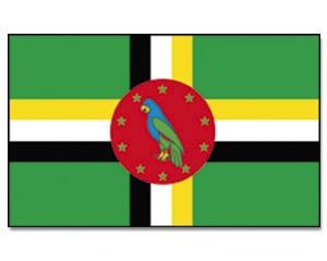 Flagge Dominica 90 x 150