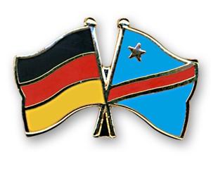 Freundschaftspins Deutschland-Kongo, Demokratische Republik