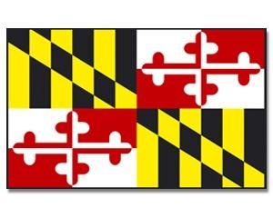 Flagge Maryland 90 x 150