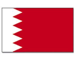 Stock-Flagge Bahrain 30 x 45