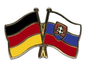 Freundschaftspins Deutschland-Slowakei