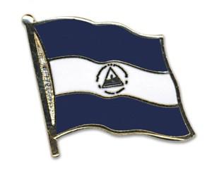 Flaggen-Pins Nicaragua (geschwungen)
