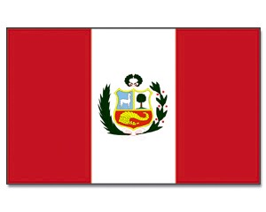 Flagge Peru 90 x 150