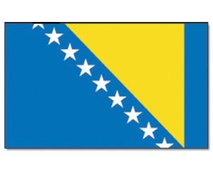 Stock-Flagge Bosnien und Herzegowina 30 x 45