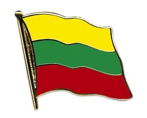 Flaggen-Pins Litauen (geschwungen)