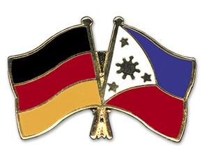 Freundschaftspins Deutschland-Philippinen