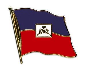 Flaggen-Pins Haiti (geschwungen)