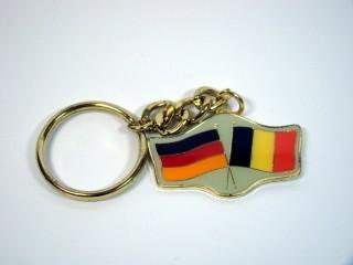 Schlüsselanhänger Deutschland-Belgien