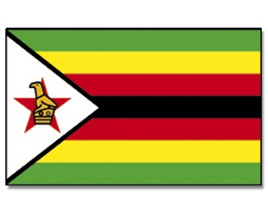 Flagge Simbabwe 90 x 150