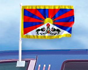 Autoflagge Tibet 27 x 45