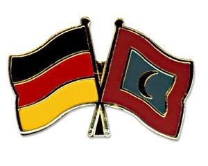 Freundschaftspins Deutschland-Malediven
