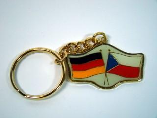 Schlüsselanhänger Deutschland-Tschechische Republik