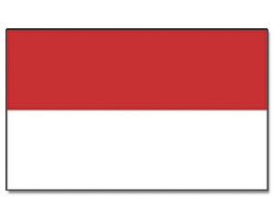 Flagge Monaco 90 x 150