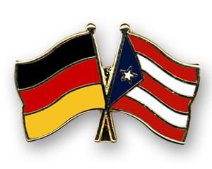 Freundschaftspins Deutschland-Puerto Rico