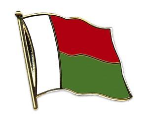Flaggen-Pins Madagaskar (geschwungen)