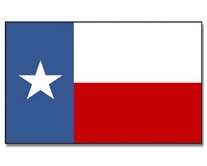 Flagge Texas 90 x 150