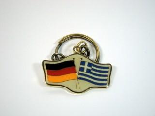 Schlüsselanhänger Deutschland-Griechenland