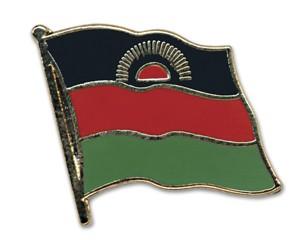 Flaggen-Pins Malawi (geschwungen)