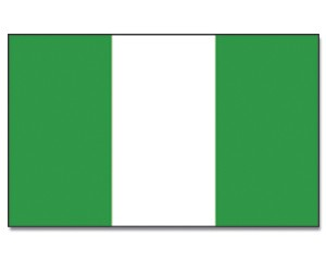 Flagge Nigeria 90 x 150