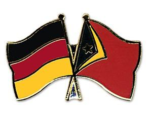 Freundschaftspins Deutschland-Timor-Leste