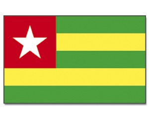 Flagge Togo 90 x 150