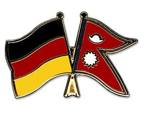 Freundschaftspins Deutschland-Nepal
