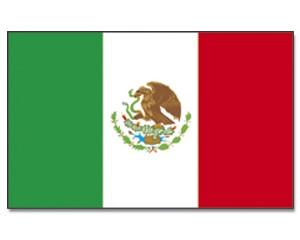 Flagge Mexiko 90 x 150