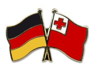Freundschaftspins Deutschland-Tonga