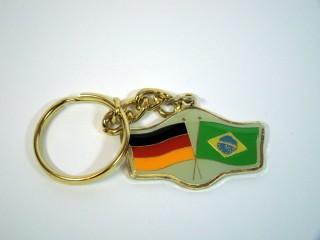 Schlüsselanhänger Deutschland-Brasilien