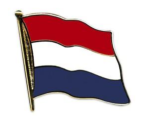 Flaggen-Pins Niederlande (geschwungen)