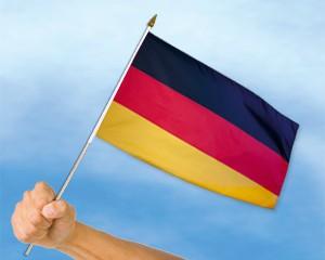 Stock-Flagge Deutschland 30 x 45